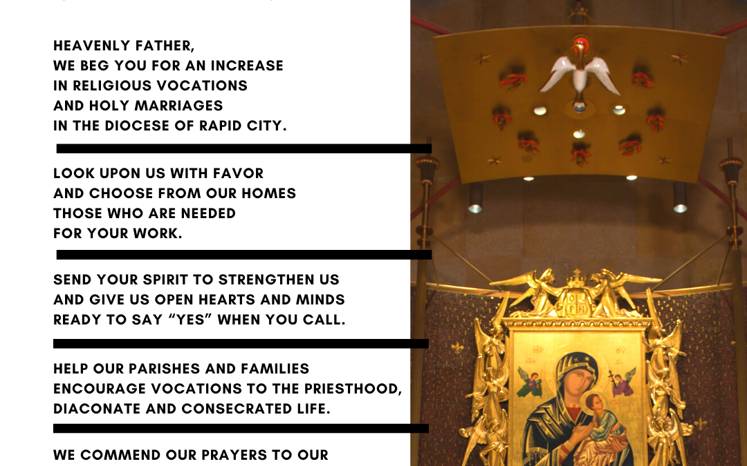 New Diocesan Prayer for Vocations